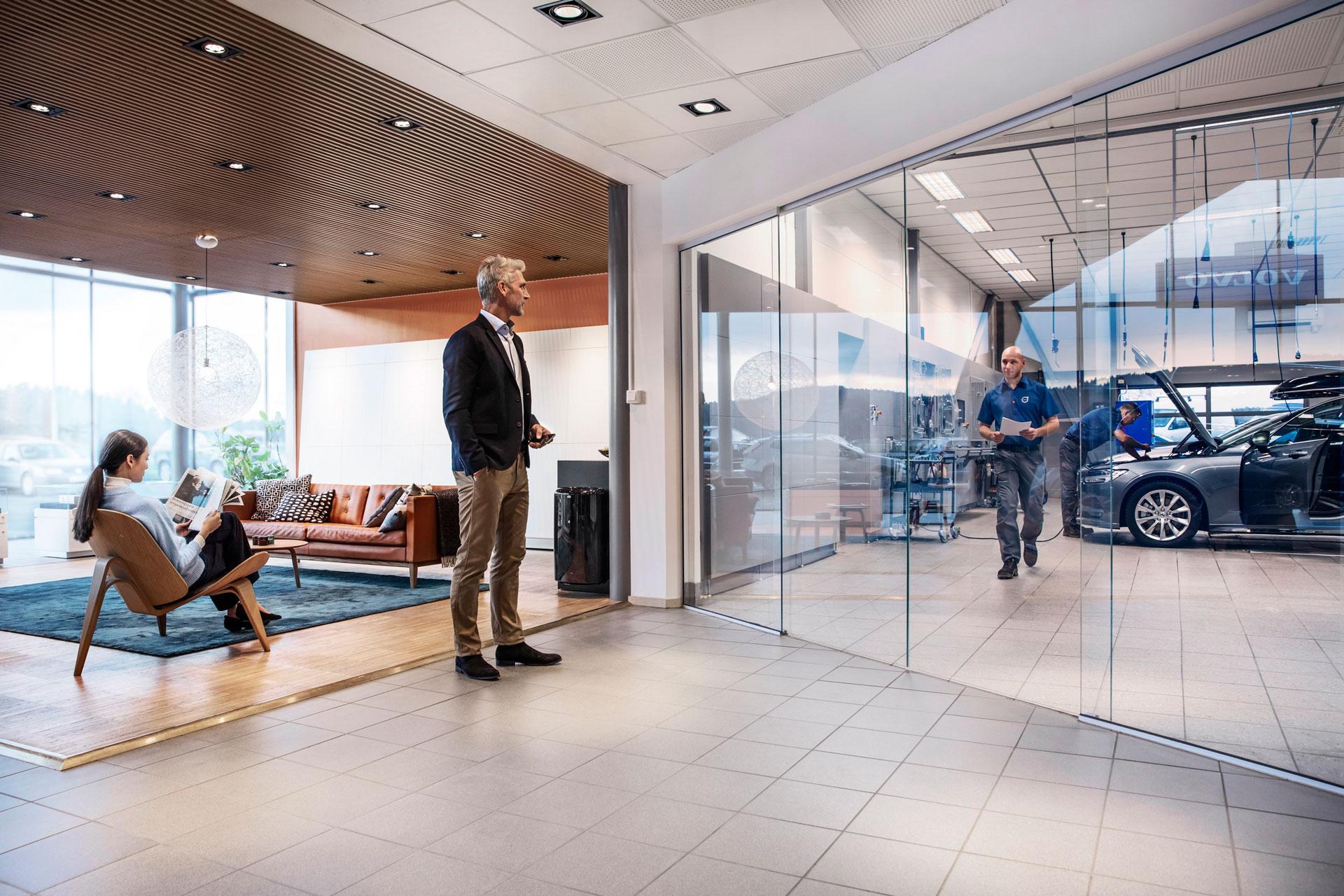 Технические обслуживание Volvo у официального дилера